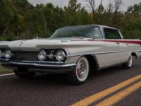 1959 Oldsmobile 98 Holiday Four-door Flat-Top Hardtop