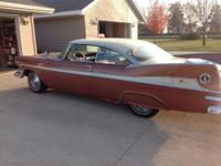 Well cared for 1959 Plymouth Fury. Stored inside.