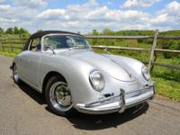 1959 Porsche 356A 1600 Super Cabriolet finished in it's