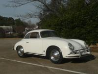 1959 Porsche 356A Cabriolet with Kardex shows that the