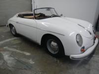 1959 Porsche 356A Convertible D -The convertible D is