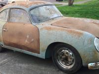1959 Porsche 356A From the barn to light, A piece of