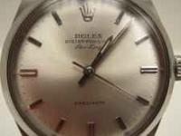 This is a 1959 Rolex Air King stainless with the Rolex