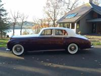 Year : 1959 Make : Rolls-Royce Model : Silver Cloud