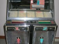 This Seeburg model was the first stereo juke box on the
