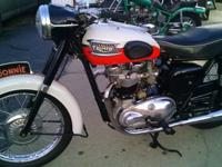 This is a very first year - edition of the Triumph