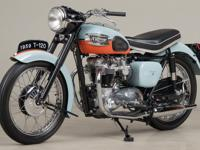 1959 Triumph Bonneville T120 VIN: 022806 1959 was the