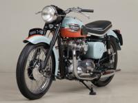 1959 Triumph Bonneville T120VIN: 022806u2028n1959 was