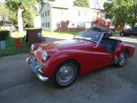 1959 Triumph TR3 -This classic sport car is in good