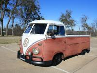1959 Volkswagen Bus/Vanagon Single Cab -The Single Cab