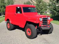 1959 Willys Panel Van Four Wheel Drive Check out this