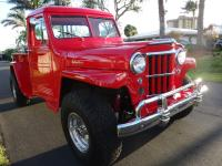 1959 Willys Custom 4X4 Pick-Up Truck  Frame-off