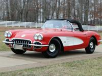 This Corvette received a frame-off, nut-and-bolt