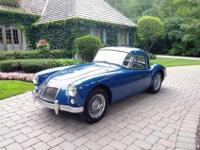 The MGA is a sports car that was produced by MG from