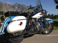 1960 Harley-Davidson DUO Glide FLH Big Twin.This