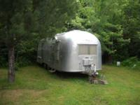 1960 Airstream Land Yacht Travel Trailer This classic