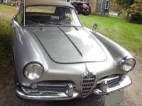 1960 Alfa Romeo Spider Veloce 101 1300. The rockers and