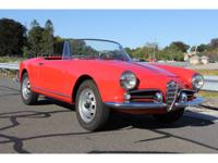 I'm proud to offer this lovely 1960 ALFA ROMEO