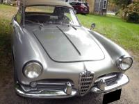 1960 Alfa Romeo Spider Veloce. This Spider has been