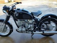 for sale is a completely initial 1969 R60US. The bike