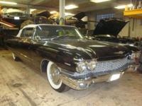 1960 Cadillac 62 Convertible ..41,038 Original Miles
