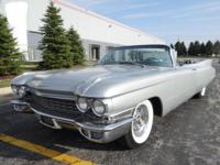 1960 Cadillac 62 Convertible ..Numbers Matching Car
