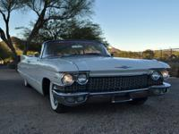 1960 Cadillac Deville Series 62 Convertible Fresh