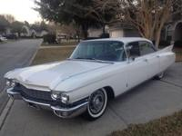 1960 Cadillac Fleetwood 4DR HT ..All Original