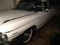 1960 Cadillac series 62 Runs but will need resoration =