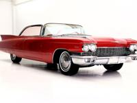 1960 Cadillac Series 62  Gorgeous lipstick red 1960