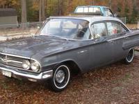 I have a 4 door 1960 chevy bel air for sale. Body is