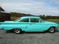 1960 Chevrolet Biscayne, The body is a rust free