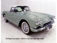 1960 Corvette Convertible, 283-230 hp, 4 speed, numbers