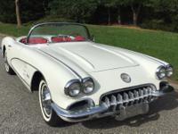 This is a 1960 Corvette Convertible in excellent