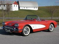 1960 Chevrolet Corvette Red  eautiful Roman Red