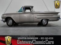Stock #23-HOU  1960 Chevrolet El Camino $29,995 Engine: