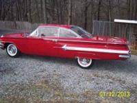 Fire Engine Red Exceptional Condition Chevy Impala all