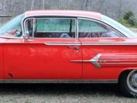 Up for sale: 1960 Chevrolet Impala, Viper Red, Hard