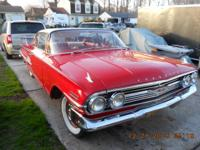 1960 Chevy Impala 2 Dr Coupe T10 Borge Warner 4 speed