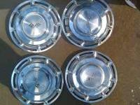 For sale is a set of 1960 chevy impala hub caps. $40