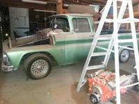 1960 Chevy Truck, project. Rare. Long-bed with big rear