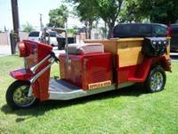 1960 Cushman Truckster Trike Custom This amazing trike