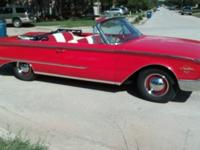 1960 FORD SUNLINER 2 DOOR CONVERTIBLE  -THIS IS A FRAME