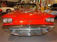 1960 FORD THUNDERBIRD CONVERTIBLE. THIS CAR WAS THE