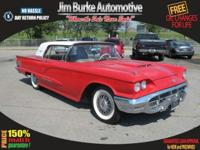 This 1960 Ford Thunderbird is a two door Cpe with a 352