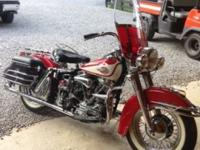 1960 Harley Davidson FLH Duo Glide thats been fully