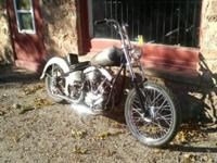 ~ 1960 Fl Has a clean Harley Davidson ~ Has current