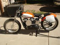 1960 Factory Harley KR Flat Track Racer, Completely