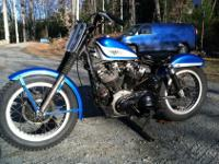 1960 XLR, FACTORY HARLEY DAVIDSON RACE BIKE! RUNS AND
