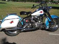 ~ ~ 1960 Harley-Davidson DUO Glide FLH Big Twin.This
